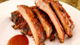 Oriental Style Barbecued Ribs