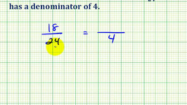 Ex 2:  Determine an Equivalent Fraction with a Specific Denominator
