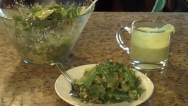 Lettuce and Corn Tex Mex Salad with Cilantro Lime Dressing