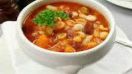 Simple Pasta Fagioli Soup