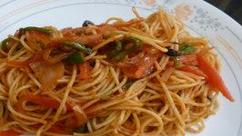 Quick Vegetable Spaghetti