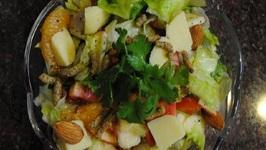 Curried Pineapple Orange Salad