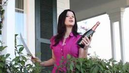 How to Saber Sparkling Wine