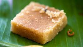Homemade Mysore Pak