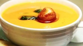 Asian Style Tempered Tomato and Coconut Soup