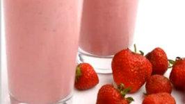 Soy Strawberry Shake