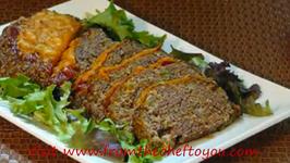Beef Cheeseburger Meatloaf
