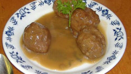 Swedish Meat Balls with Beets