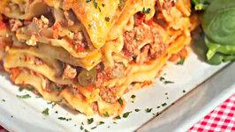 Easy Picante Lasagna