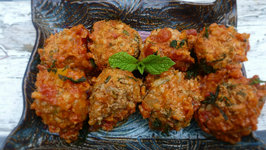Search for a Food Tube Star: Turkey Meatballs With Rice
