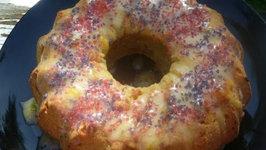 Mango Pound Cake with Mango Icing