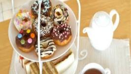 Afternoon Tea Egg Free Soy Milk Doughnuts