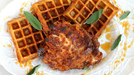 Fried Chicken and Sage Waffles