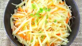 Korean Potato, Carrot Onion Stir Fry