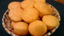 Sweet Jalapeno Mozzarella Cornbread Muffins