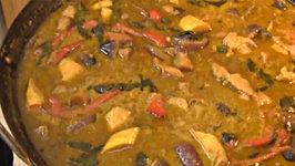 Thai Food: Thai Recipes: Thai Cooking Recipe: How To Make Thai Green Chicken Curry