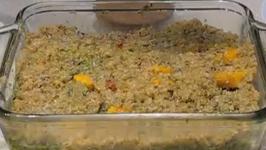 Butternut Squash and Pesto Casserole
