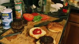 Black Bean Vegan Burger