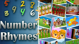 Number Rhymes Medley  Counting Rhymes for Kids  14 Rhymes Collection