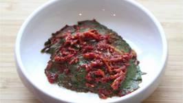 Korean Perilla Kimchi