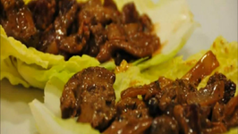 Sauteed Chicken Livers with Bacon and Mushroom
