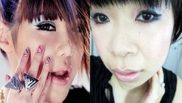 2NE1's Park Bom Try to Follow Me - Hair and Makeup Tutorial