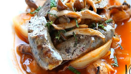 Lamb Sausage with Braised Fennel & Mushroom Ragu