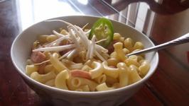 Protein-Rich Macaroni Soup