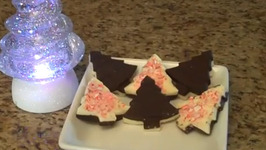Black and White Peppermint Bark
