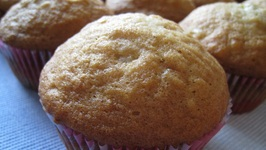 Banana Muffins Using Shortening