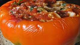 Egg Salad Stuffed Pepper