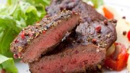Scotch Glazed Ham Steak