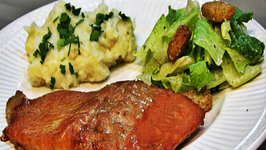 Bourbon Marinated Salmon