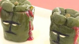Japanese Stuffed Green Peppers