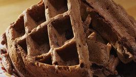 Chocolate Chocolate Chip Waffles