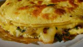 Mediterranean Vegetable Omelet