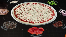 First Look at Pizza Hut's Interactive Touchscreen Table Menu
