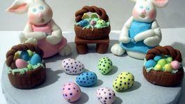 Fondant Easter Cakes Ideas