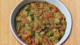 Smothered Okra Eggplant And Tomato