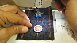 How To Sew on a Button Using a Sewing Machine Tutorial