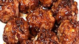 Healthy Honey Garlic Meatballs - Gluten Free