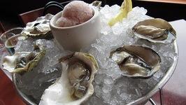 Kumamoto Oysters with Pineapple Vinegar