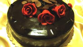 Professional Chocolate Raspberry Ganache Cake