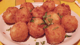 Crispy Cheese Balls