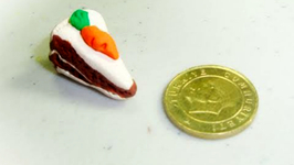 How To Make A Polymer Clay Carrot Cake
