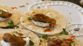 Lahori Fish Tacos - Party Appetizers