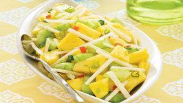 Wegmans Pineapple, Jicama and Cucumber Salad