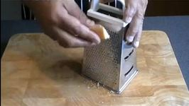 How to grate Parmesan cheese