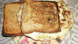 Different Style Bread Omelette