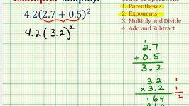 Ex 2:  Simplify an Expression Involving Decimals